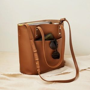 Henny + Lev: Vegan Leather 2-In-1 Everyday Shoulder Crossbody Tote Purse (NWT)
